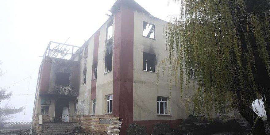Yangından kurtulan öğrenciler yaşadıklarını savcıya anlattı