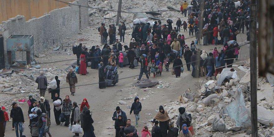 Halepli sivillerden yardım çağrısı