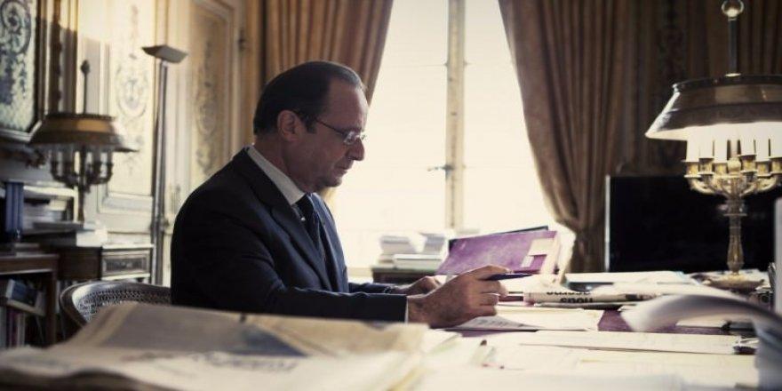 Fransa Cumhurbaşkanı Hollande'dan sürpriz karar!