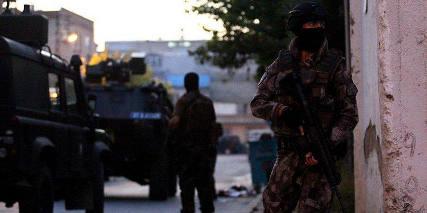 Gaziantep'teki terör operasyonunda 9 tutuklama