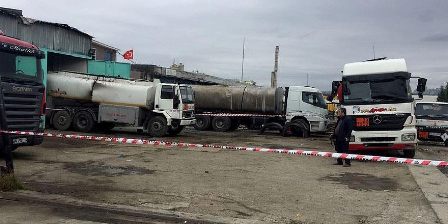 Akaryakıt tankerinde patlama: 1 ölü