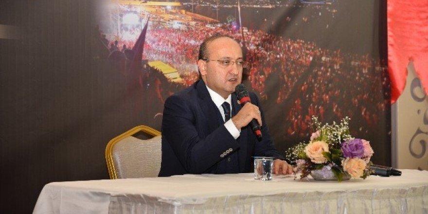 Yalçın Akdoğan: ''FETÖ'cüler 40 yıl 15 Temmuz gecesi için çalışmışlar''