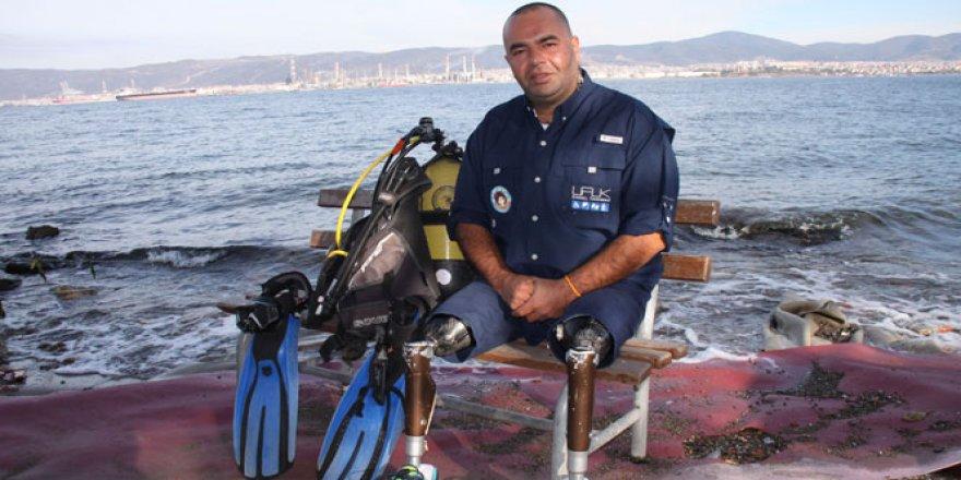 Depremde iki bacağını kaybetti dünya rekortmeni oldu