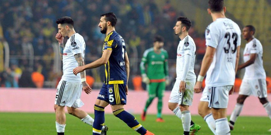 Fenerbahçe Beşiktaş derbisinde 121. randevu