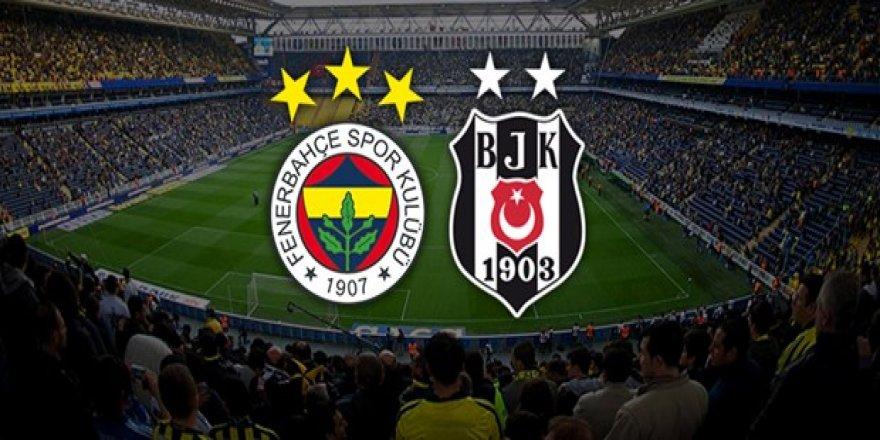 Fenerbahçe-Beşiktaş maçının muhtemel 11'i