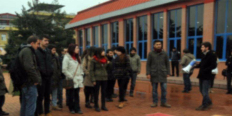 Hacettepe Üniversitesi Rektörlüğü'nden, PKK'yı protesto eden öğrenciye ceza