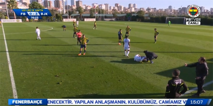 Fenerbahçe-Beşiktaş U21 maçında tarihi an