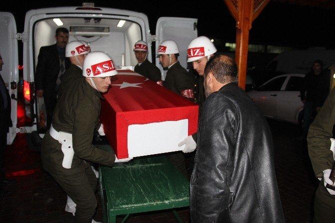 Şehidin cenazesi, Bursa'dan Gaziantep'e getirildi