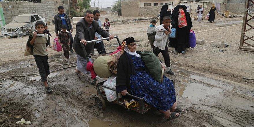 Musul'dan göç edenlerin sayısı 85 bini aştı