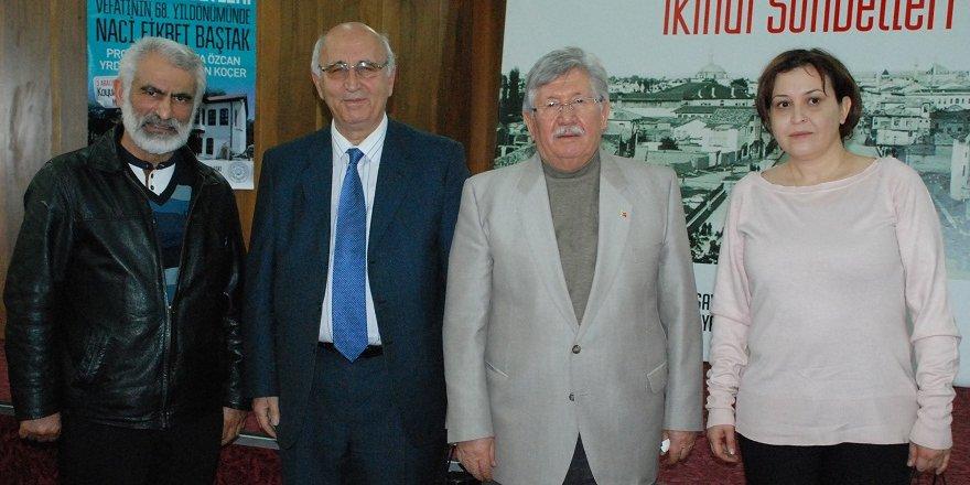 """""""Vefatının 68.Yılında Naci Fikret Baştak"""" konuşuldu"""