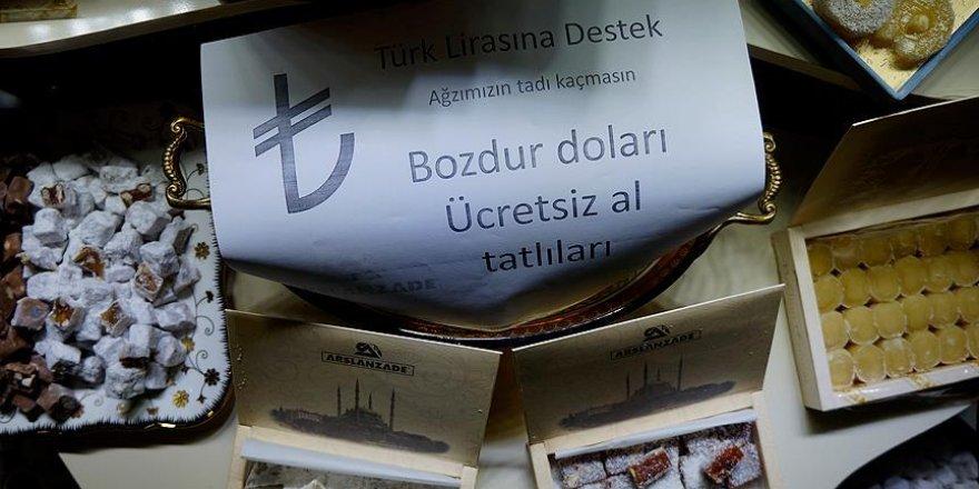Trakyalı esnaf Türk lirasına sahip çıkıyor