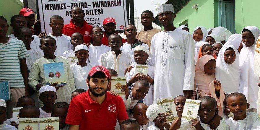 Denizli'den Nijerya'ya uzanan yardım eli