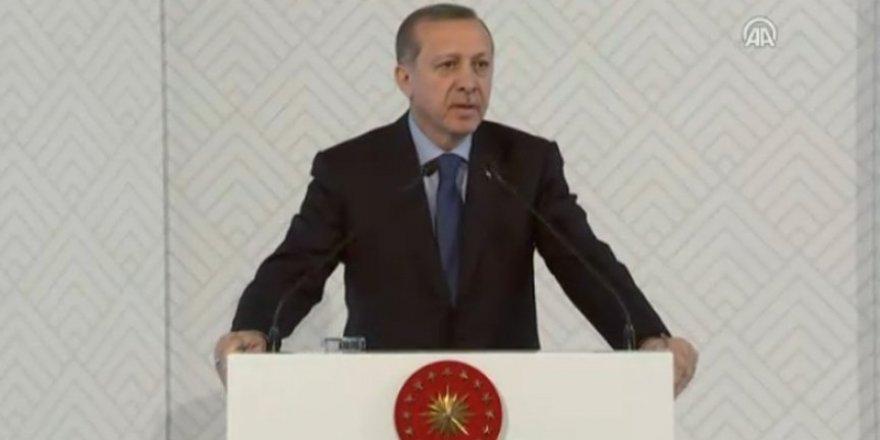 Erdoğan, Abdullah Gül Müzesinin açılış töreninde konuşuyor