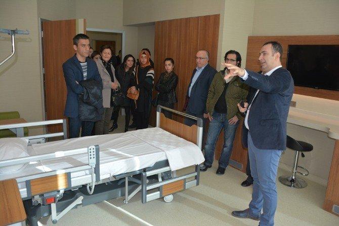 Medova Hastanesi eczacıları ağırladı
