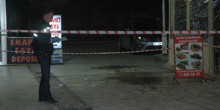 Adana'da bıçaklı kavga: 1 ölü 1 yaralı