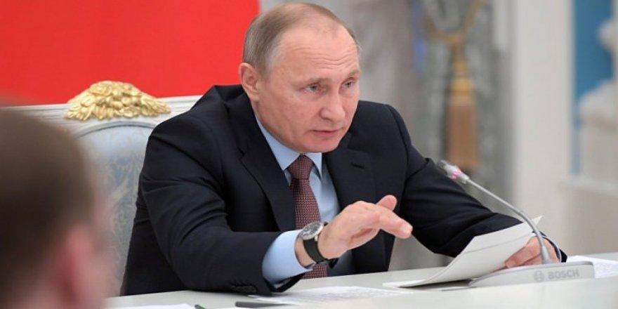 Putin'den ABD'ye: Geçti o günler