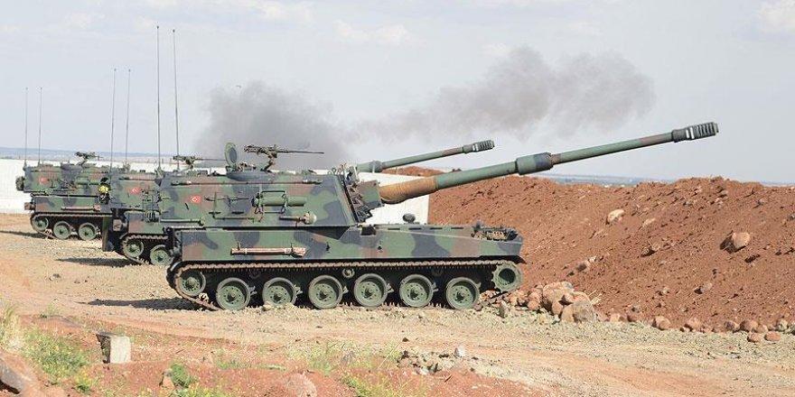 Suriye'nin kuzeyinde terör örgütü DEAŞ hedefleri vuruldu
