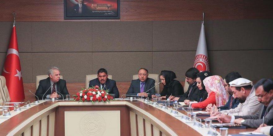 Afgan parlamenterlerden TBMM'ye ziyaret
