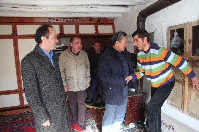 Seydişehir Belediyesi'nden engelli gencin evine engelli rampası