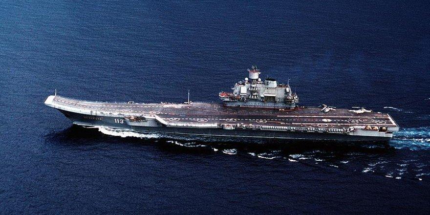 Akdeniz'de Rus savaş uçağı düştü