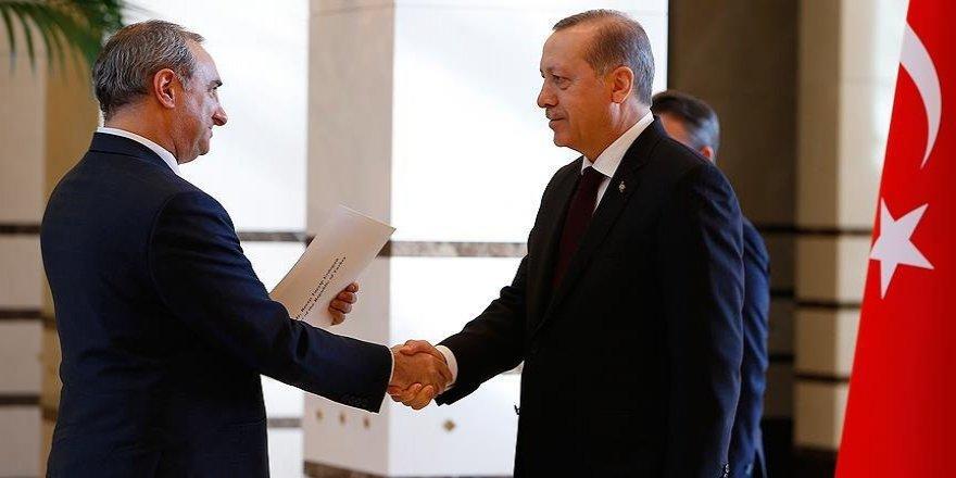 Erdoğan İsrail'in Ankara Büyükelçisi Na'eh'i kabul etti