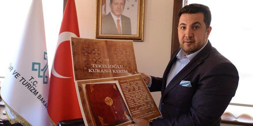 220 yıllık Kur'an-ı Kerim'e restorasyon