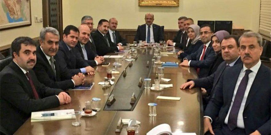Konya'dan Bakan Fikri Işık'a ziyaret