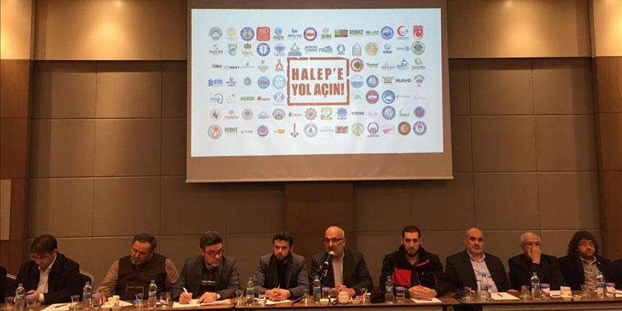Konya'dan 'Halep'e Yol Açın' kampanyası