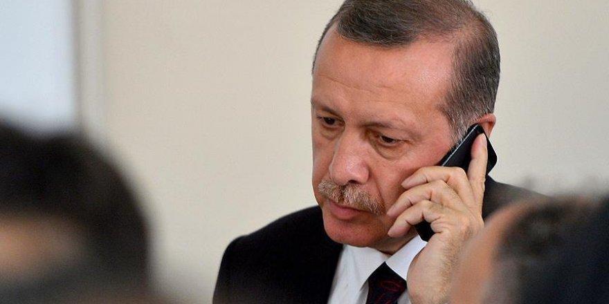 Erdoğan'dan IKBY Başkanı Barzani'ye taziye telefonu