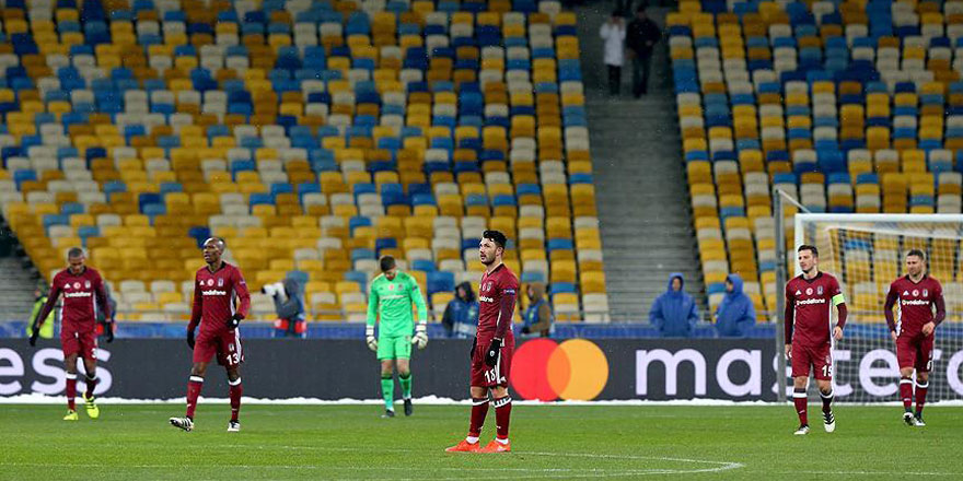 Kiev'de Beşiktaş'ın kabus gecesi! 6-0