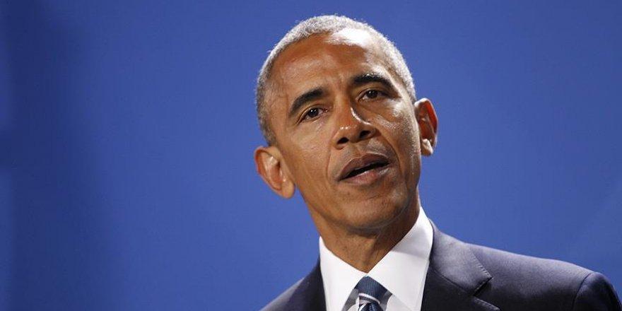 Obama Halep konusunda bilgi aldı