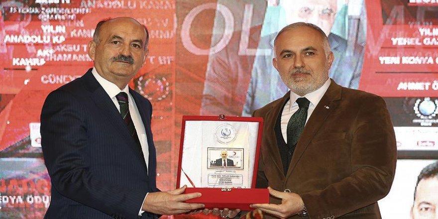 Kızılay 'Yılın Sivil Toplum Kuruluşu' seçildi