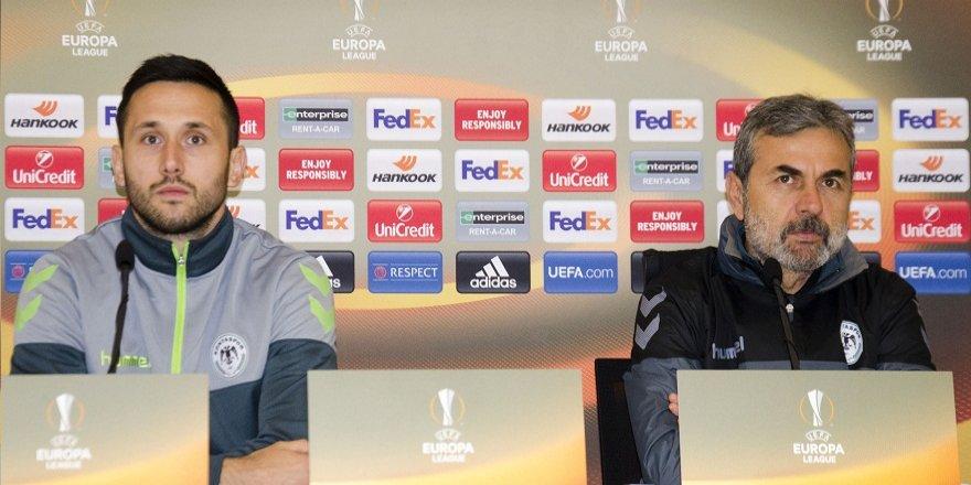 """""""Gent maçıyla güzel bir veda gecesi yapmak istiyoruz"""""""