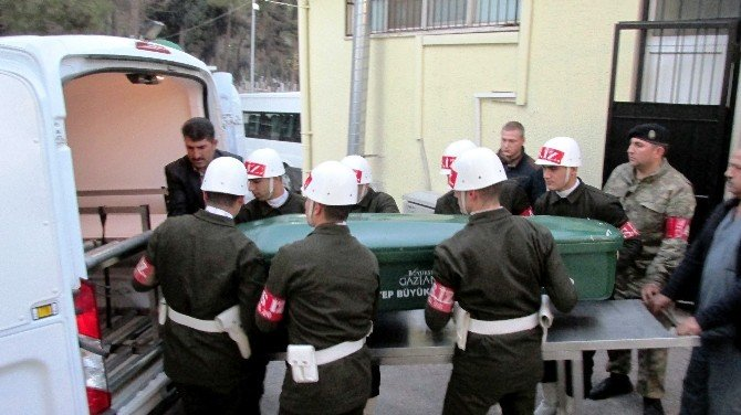 Suriye şehidinin otopsi işlemleri tamamlandı