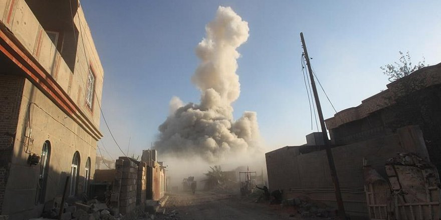 Irak'ta savaş uçaklarının sivilleri bombaladığı iddiası