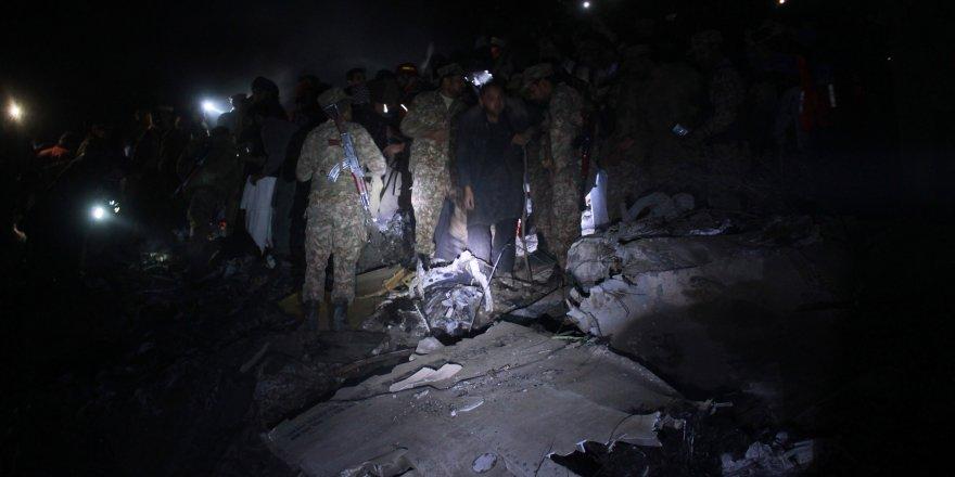 Düşen uçaktan 46 ceset çıkarıldı