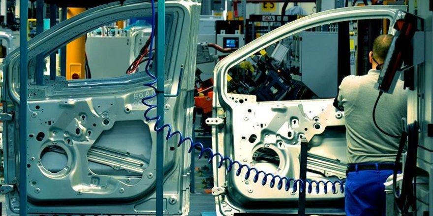Sanayi üretim endeksi yüzde 3,7 arttı