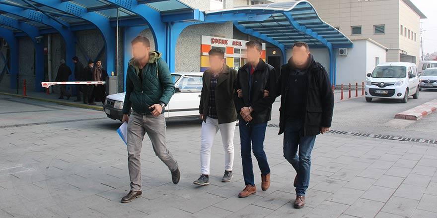 Konya'da oyuncak tabancayla soygun girişimi