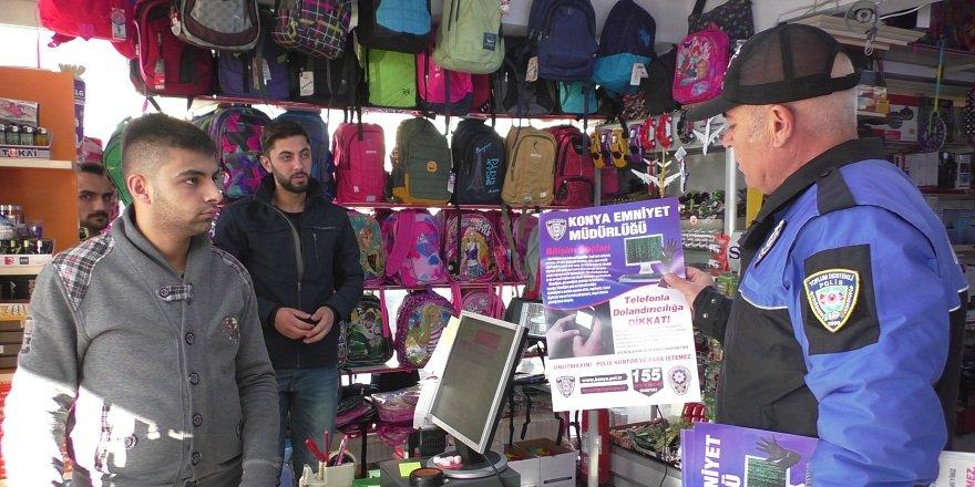 Beyşehir'de telefon dolandırıcılarına karşı uyarı