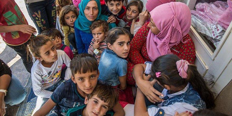 Türkiye'de yaşayan Suriyeli sığınmacıların yarısı çocuk