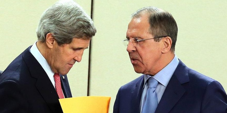 Kerry ile Lavrov, Halep'i görüştü