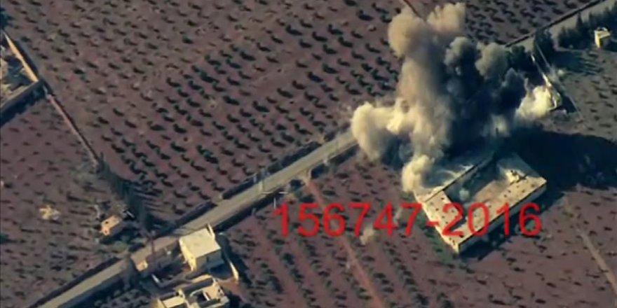 El-Bab'da DEAŞ hedefleri böyle vuruldu