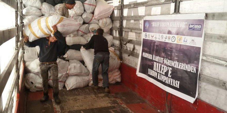 'Halep Yardım Bekliyor' kampanyası