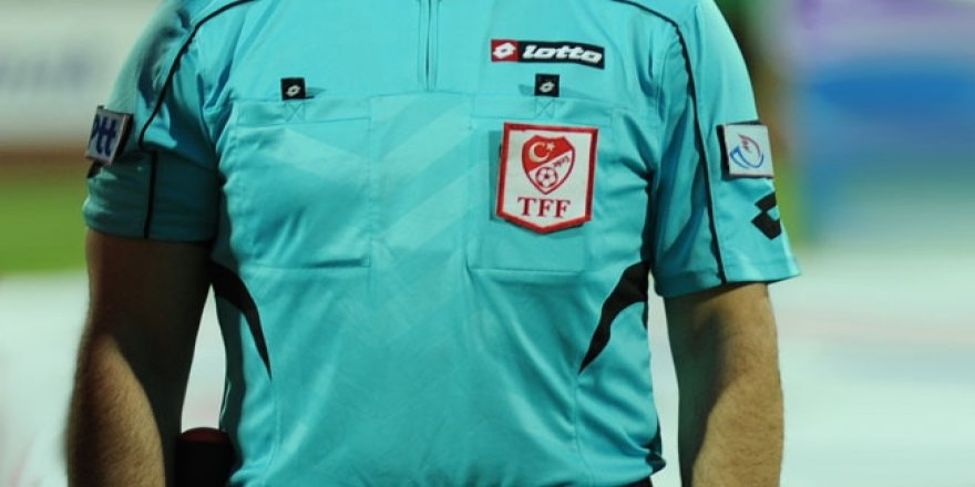 TFF 1. Lig 14. hafta hakemleri belli oldu