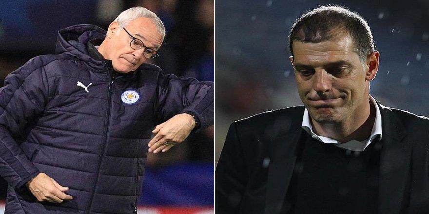 Ranieri ve Bilic 'ateş hattı'nda