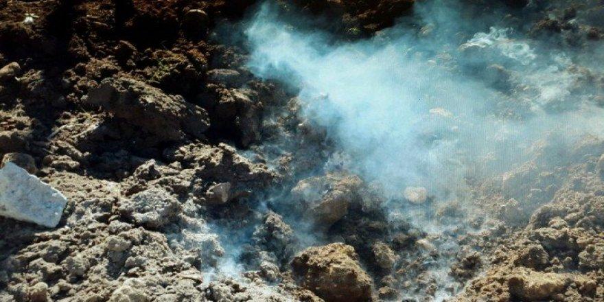 Nusaybin'de bulunan patlayıcı imha edildi