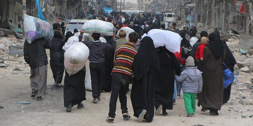 DEAŞ El Bab'da halkı kalkan olarak kullanıyor