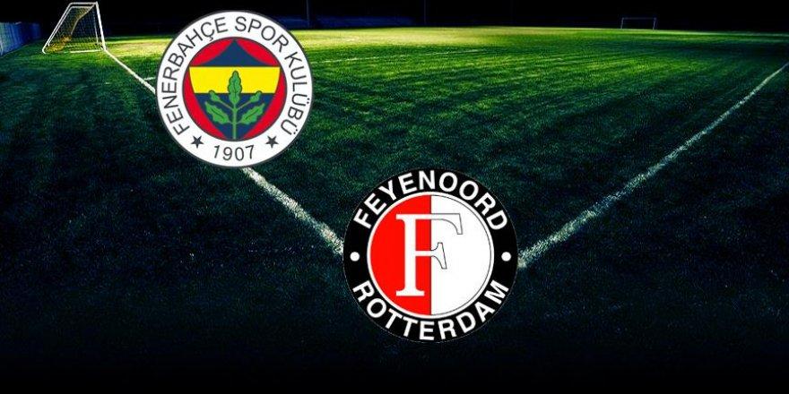 Feyenoord-Fenerbahçe maçının ilk 11'leri belli oldu