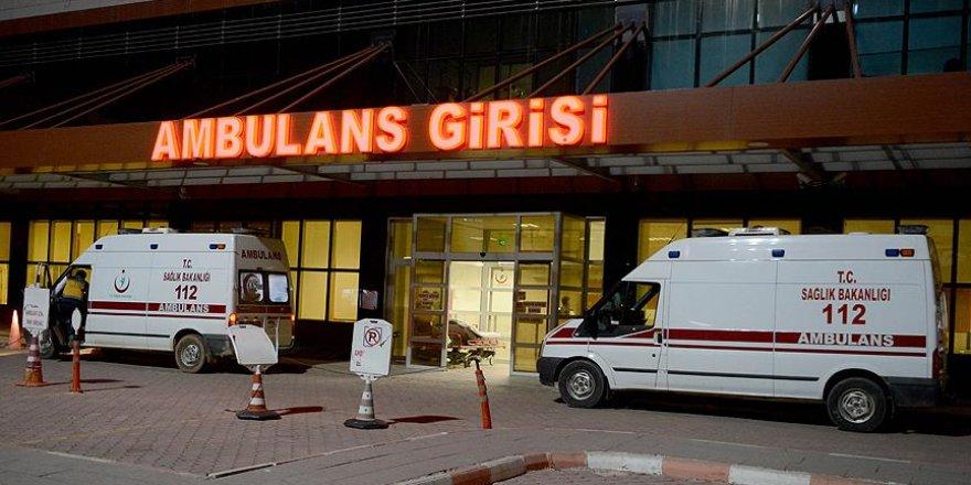 Suriye'de yaralanan 5 asker Türkiye'ye getirildi