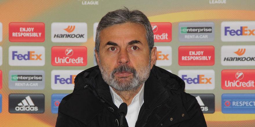 Aykut Kocaman: Son dakika golü bizi üzdü